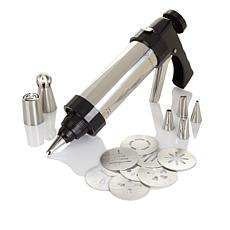 Wolfgang Puck 15pc Cookie Press Set w/Decorating Tips