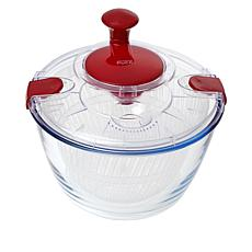 Wolfgang Puck Glass Bowl Salad Spinner