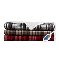 Woolrich Tasha Mink/Berber Oversized Heated Throw