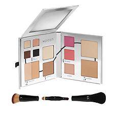 Woosh Beauty Foldout Face Palette with Secret Brush