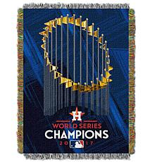"World Series 2017 Champions 48"" x 60"" Tapestry - Astros"