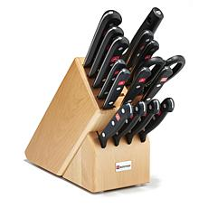 Wustof 16-piece Gourmet Knife Block Set