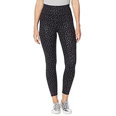 WVVYPower Metallic-Print 7/8 Legging