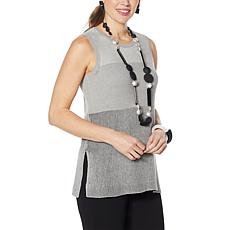 WynneLayers Colorblocked Sweater Tank