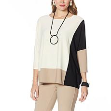 WynneLayers Luxe Crepe Easy Fit Top
