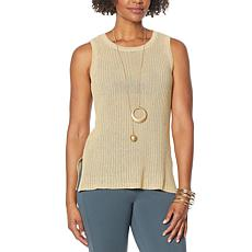 WynneLayers Ribbed Sweater Knit Tank