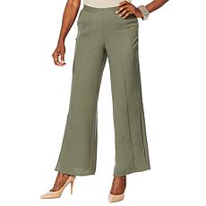 WynneLayers Woven Georgette Pull-On Pant