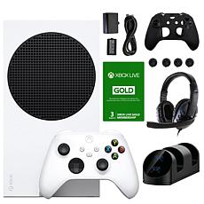 Xbox Series S 512GB All-Digital Console w/Live Membership Voucher