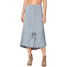 XCVI Cersia Aloe Twill Skirt