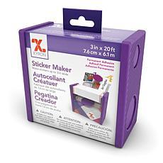 "Xyron 3"" Disposable Sticker Maker - Permanent"