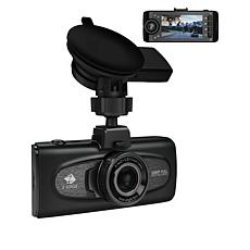 Z-Edge F1 2.7 FHD Dual Lens Dash Cam with 16GB Memory