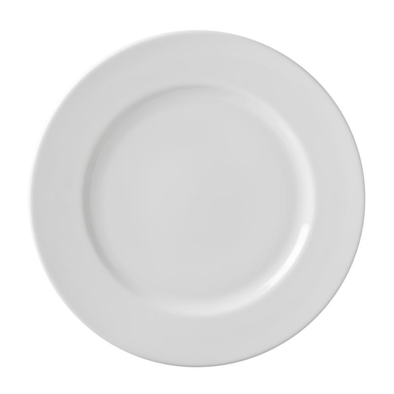 """10 Strawberry St White 11"""" Dinner Plate - 6"""