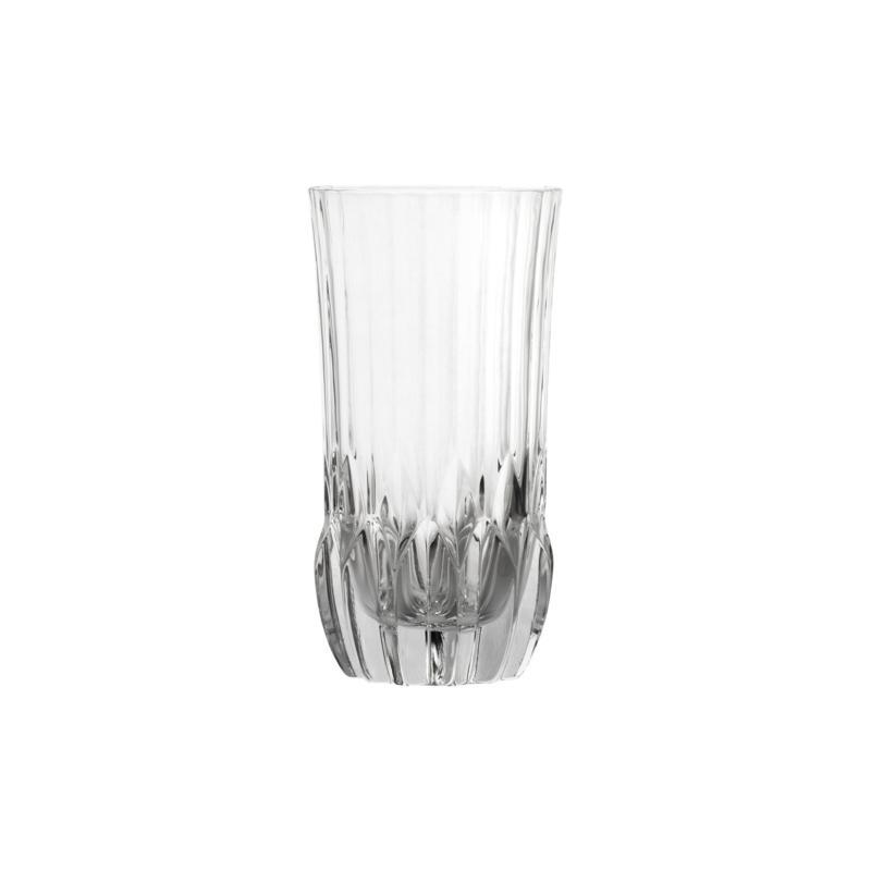 10 Strawberry Street Adagio 12 oz. Highball Crystal Glass Set of 6