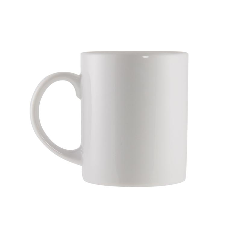 10 Strawberry Street Classic C-Handled White Mugs