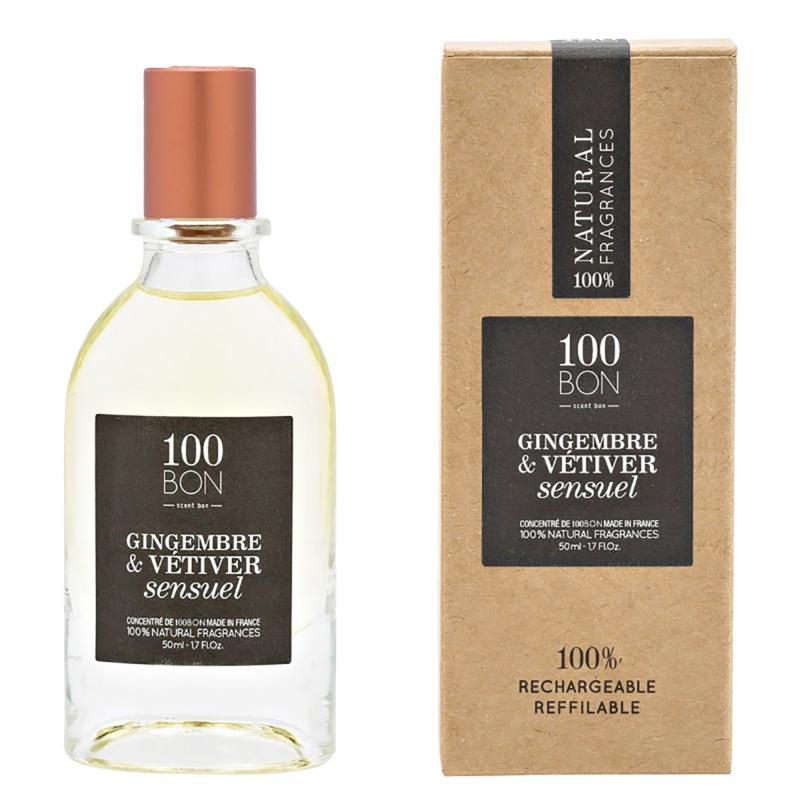 100 Bon Concentrate Gingembre & Vetiver 1.7 oz. Eau De Parfum