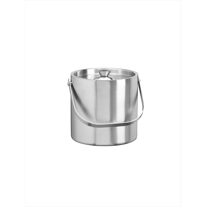 2-1/2 Quart Brushed Stainless Double Wall Ice Bucket