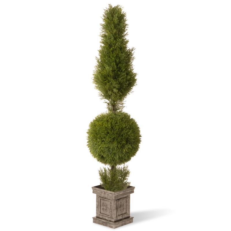 5' Artificial Topiary Juniper Tree in Urn