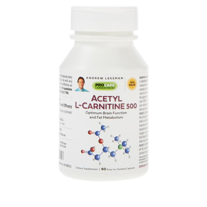 Acetyl L-Carnitine-500 - 60 Capsules