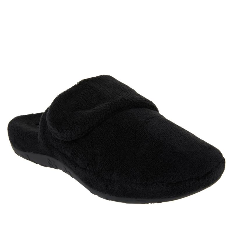 Aetrex® Mandy Faux Fur Slipper