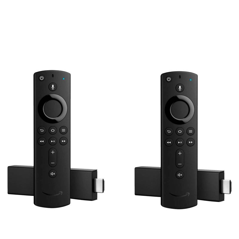 2-Pack Amazon Fire TV Stick 4K Streaming Media Player with Voice Remote