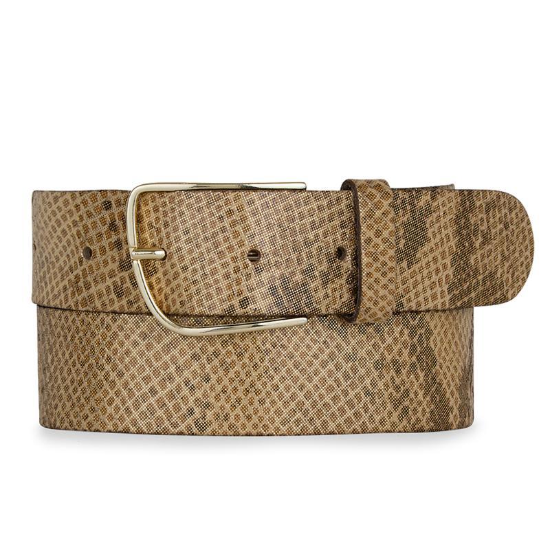 Amsterdam Heritage Luxe Deborah Snake Leather Belt