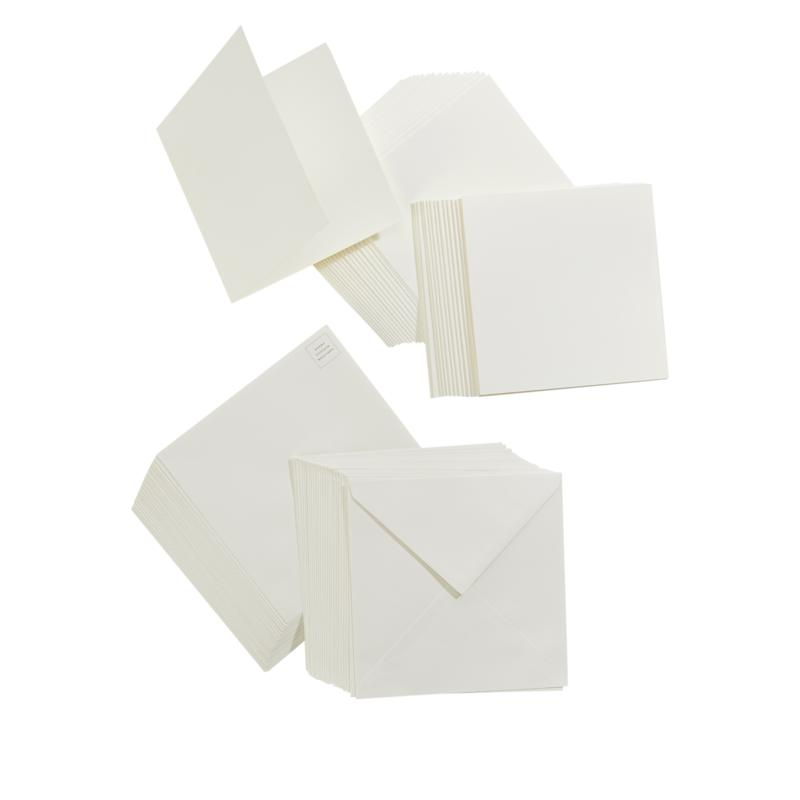 """Anna Griffin® 6""""x6"""" Ivory Cards and Envelopes"""