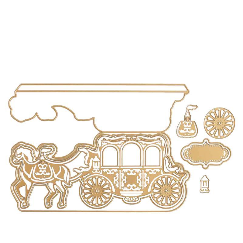 Anna Griffin® Carriage Slimline Easel Card Dies