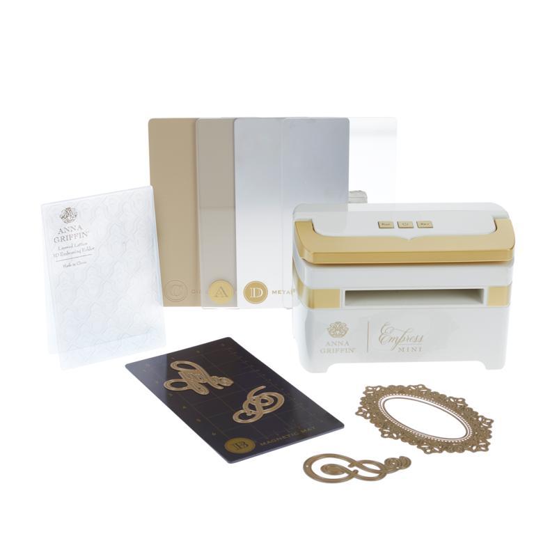 Anna Griffin® Empress Mini Die Cut & Emboss Machine Bundle