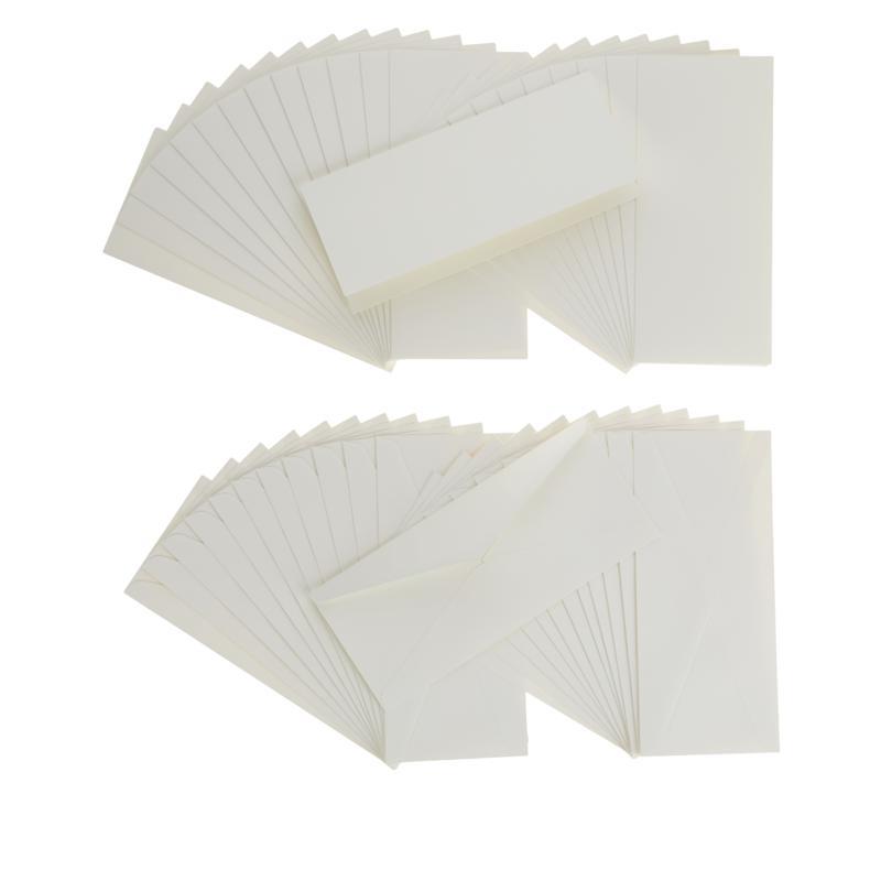 Anna Griffin® Ivory Slimline Cards and Envelopes 50-pack