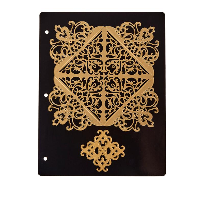 Anna Griffin® Le Coin Criss Cross Square Card Dies