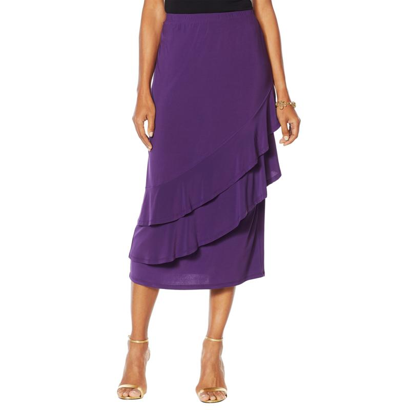 "Antthony ""Captivating Collection"" Tiered Ruffle Skirt"