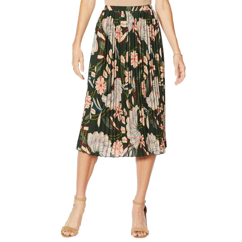 """Antthony """"Dream in Color"""" Pleated Skirt"""