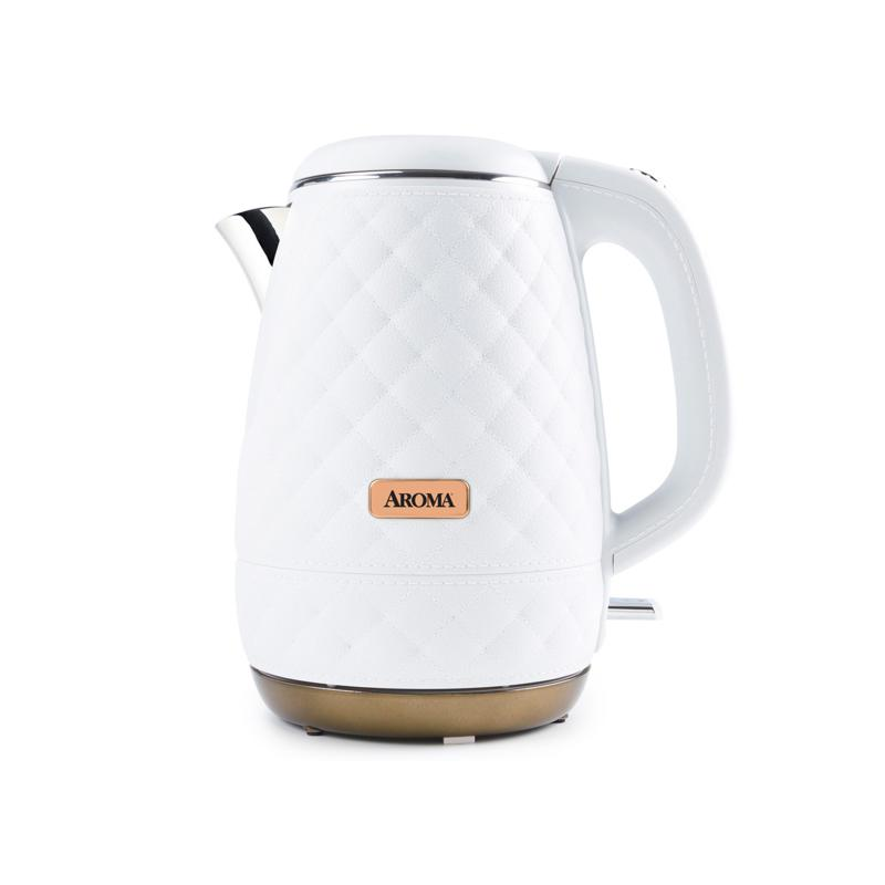 Aroma AWK-3000P Professional 1.2 Liter Water Kettle - White