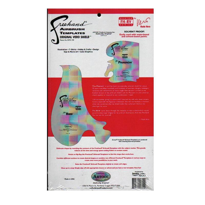 Artool Freehand Airbrush Template Master Series by Radu Vero 2-pack
