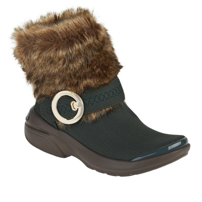 """As Is"" Bzees Ooolala Washable Faux Fur Bootie"