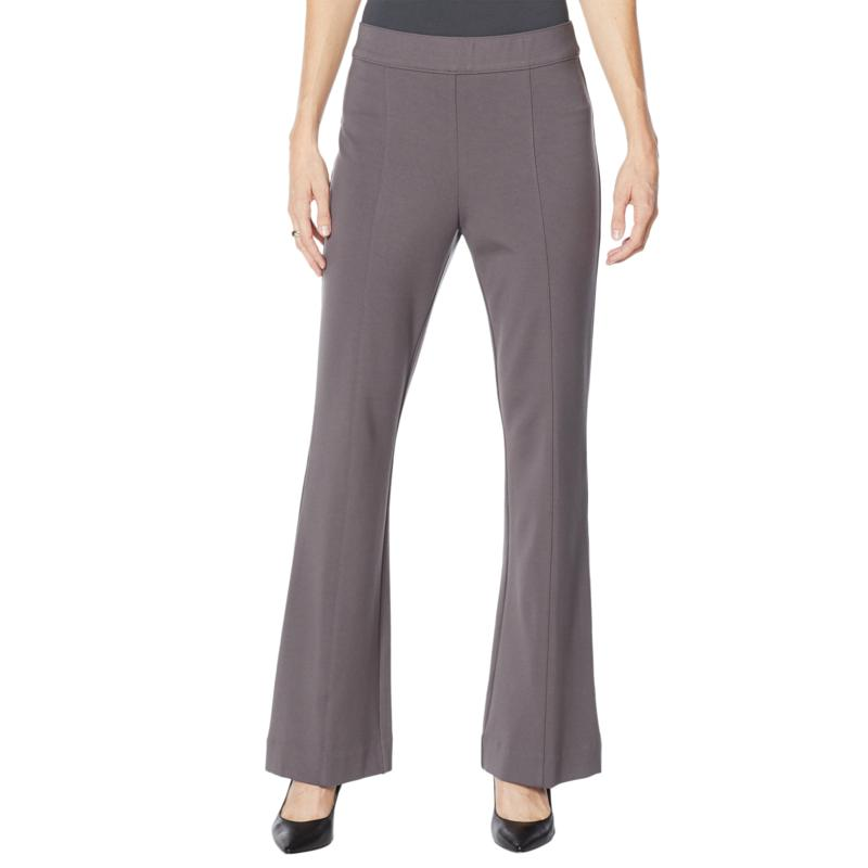 """As Is"" Colleen Lopez Flare-Leg Ponte Pant"