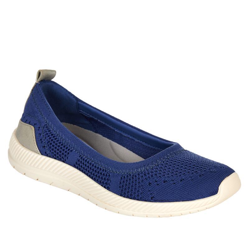 """""""As Is"""" easy spirit Glitz Slip-On Sport Flat Walking Shoe"""