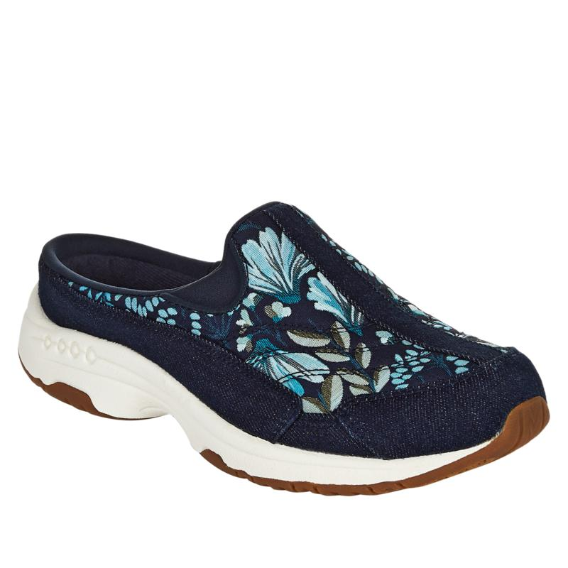 """""""As Is"""" easy spirit Traveltime Prints Leather Sport Clog"""