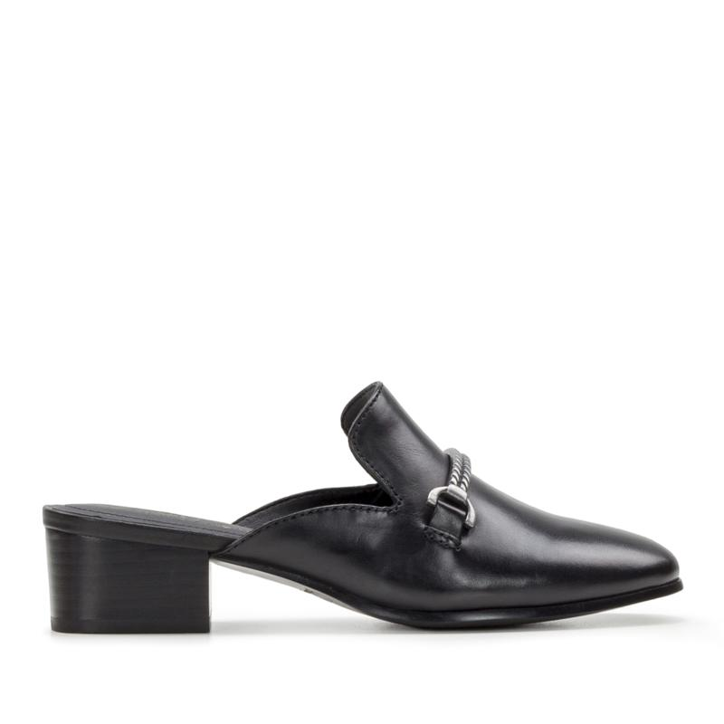 """""""As Is"""" Patricia Nash Tilly Leather Slip-On Mule"""