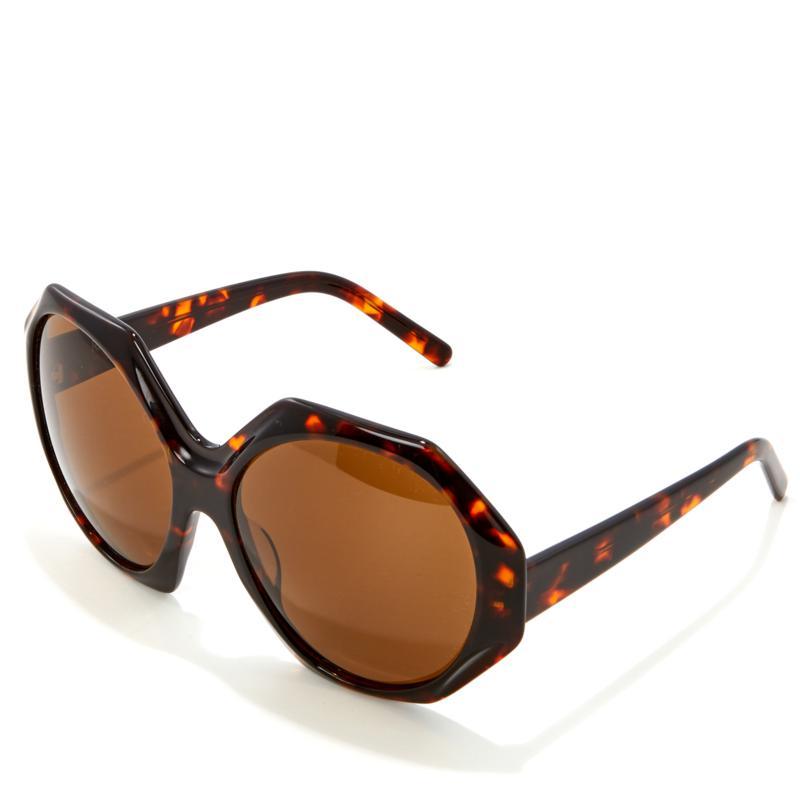 """""""As Is"""" Rara Avis by Iris Apfel Octagonal Sunglasses"""