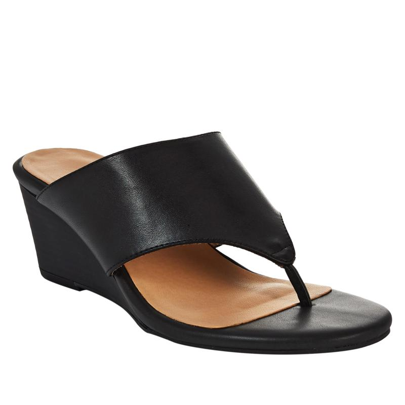 """""""As Is"""" Soul Naturalizer Nifty Wedge Thong Sandal"""