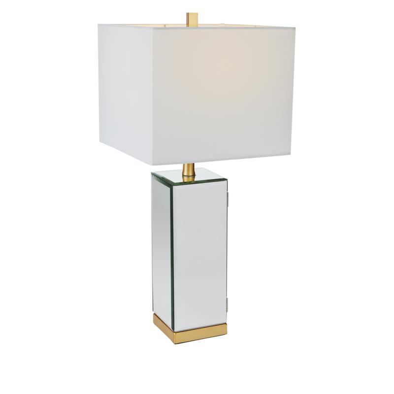 august & leo Valentina Jewelry Armoire Lamp