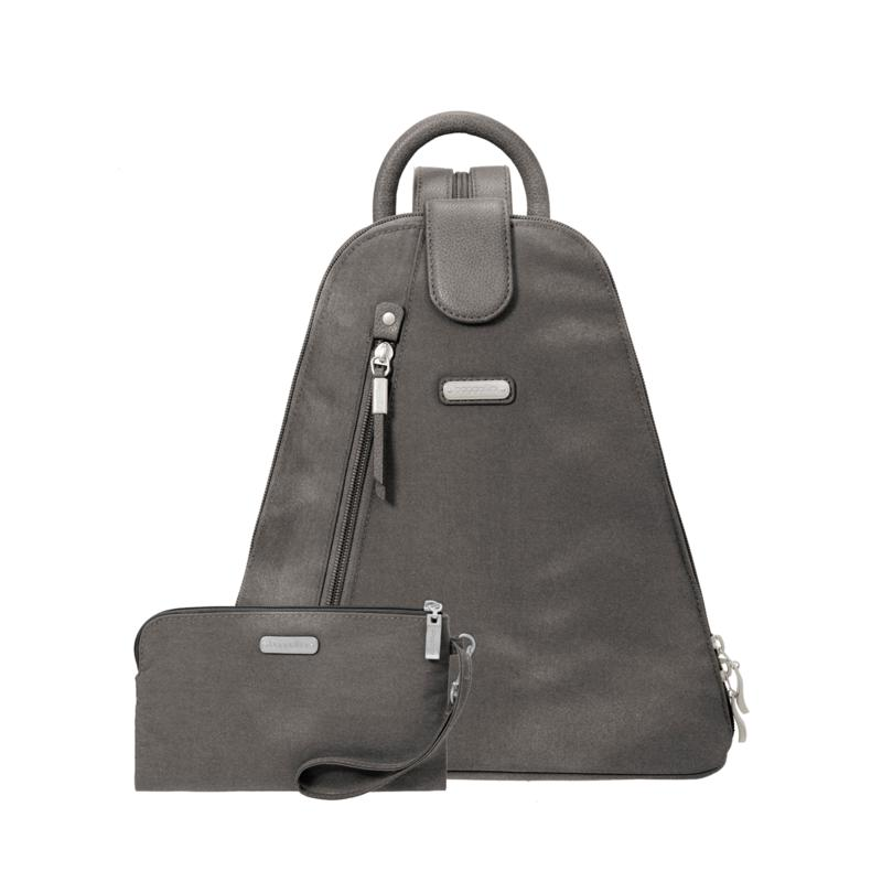 Baggallini Metro Backpack with Removable RFID Wristlet