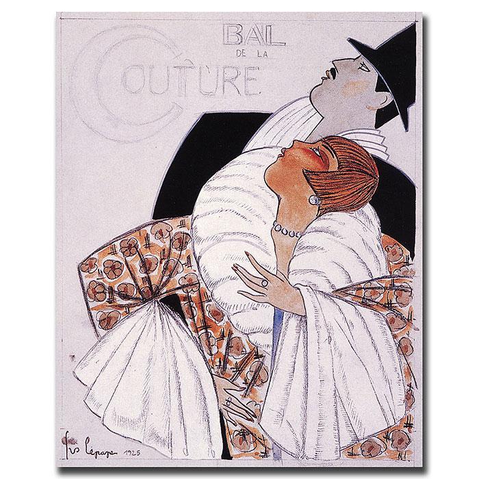 """Bal de la Couture' Canvas Art - 18"""" x 24"""""""