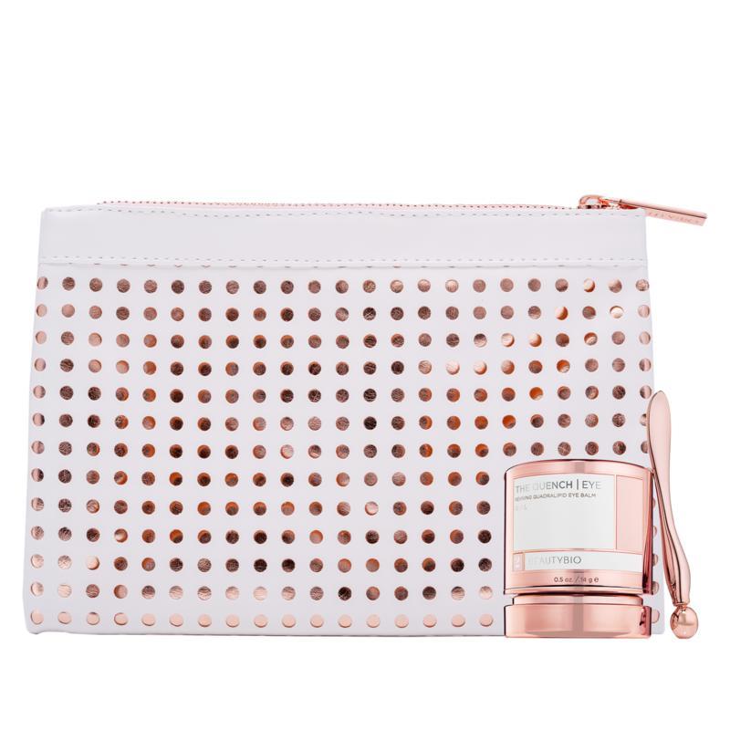 BeautyBio The Quench Eye Quadralipid Balm with Bag