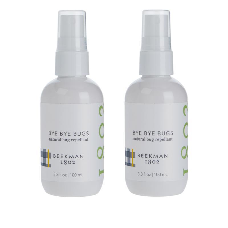 Beekman 1802 Bye Bye Bug Repellant Spray 2-pack