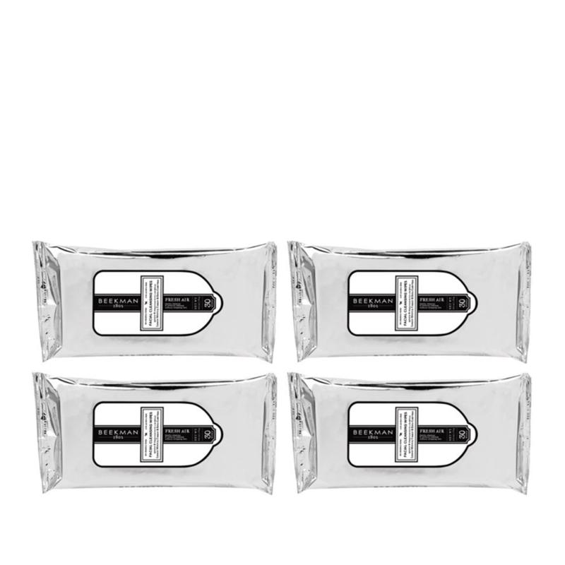Beekman 1802 Fresh Air 4-pack Face Wipes