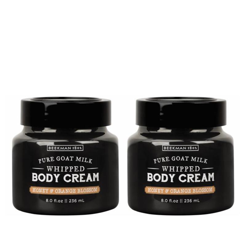 Beekman 1802 Honey & Orange Blossom Whipped Body Cream Duo- Auto-Ship®