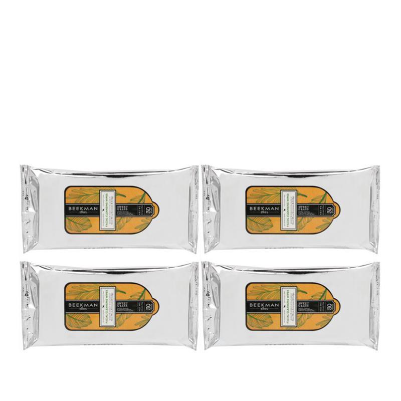 Beekman 1802 Sweet Grass 4-pack Face Wipes Auto-Ship®