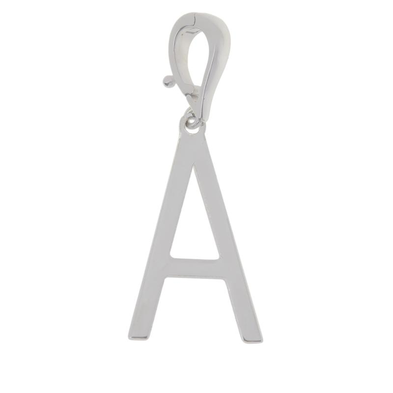 Bianca Milano Sterling Silver Initial Pendant/Charm